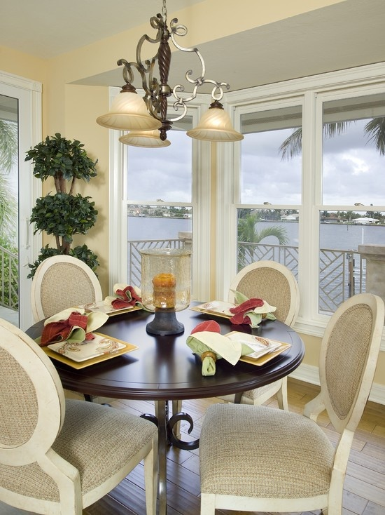 Tropical Dining Room Design Pictures Remodel Decor And Ideas