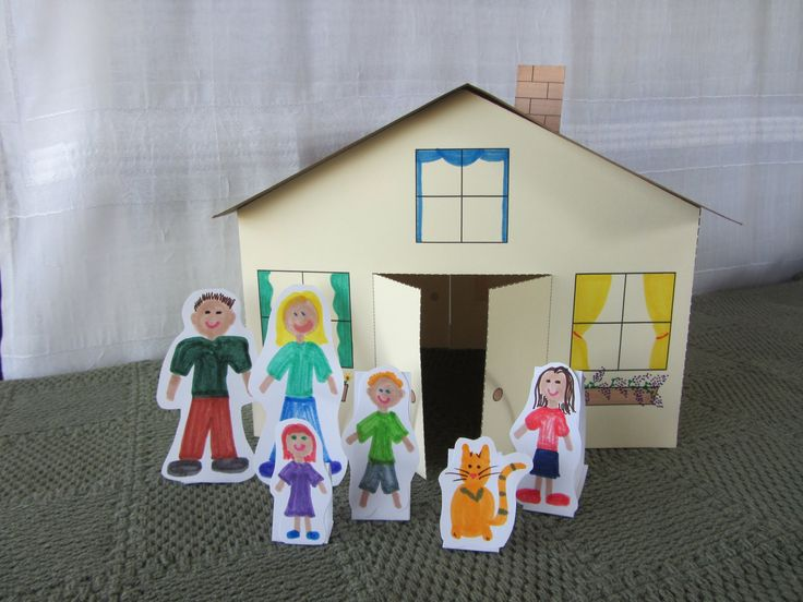 17 Best Images About Cardboard Doll House 39 S And More On