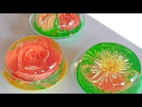 ▶ Receta para preparar gelatinas artísticas. Gelatinas artísticas / Serigrafía en gelatinas - YouTube
