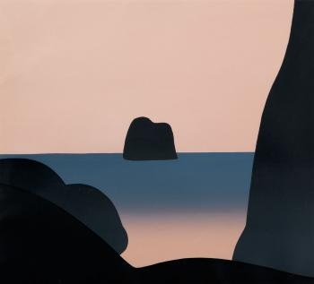 Michael Smither, Untitled.  Webbs Auction 535x595mm  Estimate $800 - $1600