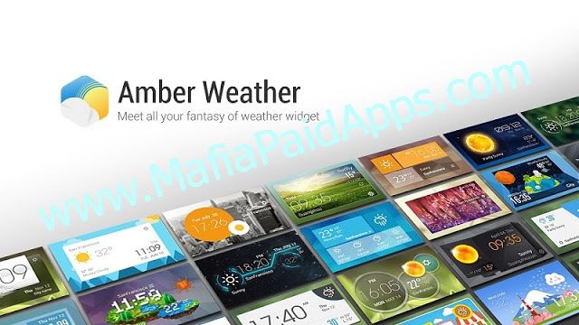 Amber Weather - Local Forecast Full v2.4.9 Apk   Amber Weather is your best personal weather station providing current weather for today and daily & hourly weather forecasts based on your current location or any location in the world. Amber Weather does not only offer real-time forecasts but also comes with different features for you to customize the weather as you want.  The app features the following: -Get current weather and weather forecasts for any location in the world (The app is…