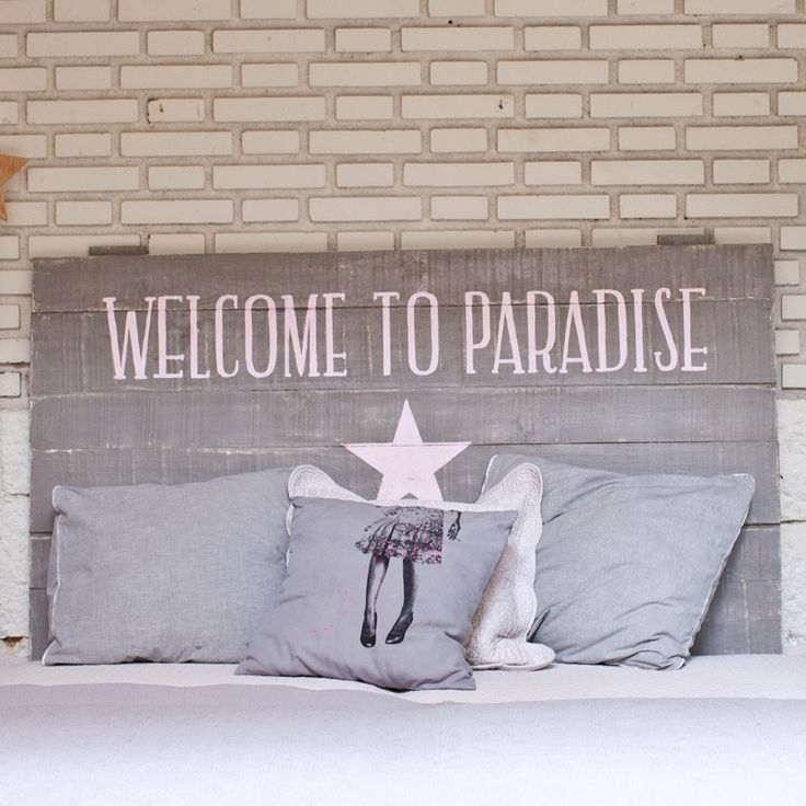 Cabecero Welcome to Paradise - Rue Vintage 74