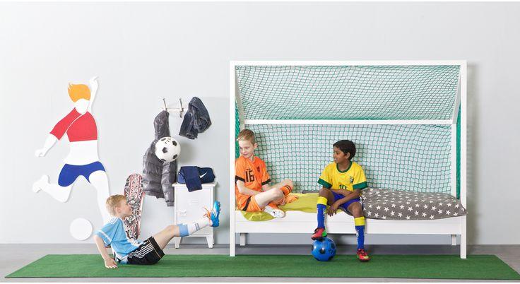 ... Voetbal Kamer op Pinterest - Voetbal Kamers, Voetbal Slaapkamer en