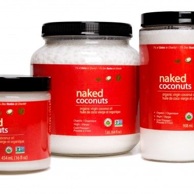 Naked Coconuts - Organic Virgin Coconut Oil. Only organic, only virgin, only fresh - we refuse to carry anything else. Most coconut oils are produced using coconuts that have sat in a warehouse for weeks or months after harvest. We pay a premium to our farmers to have them cold-press the fresh coconuts within hours of harvest. Experience the fresh harvest difference! #CoconutOil #Organic #NonGMO #Fresh #Coconut