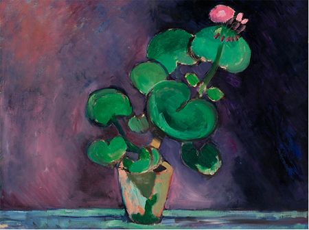 Matisse Flower Paintings | Le Géranium made news because of its high price at a Sotheby's ...