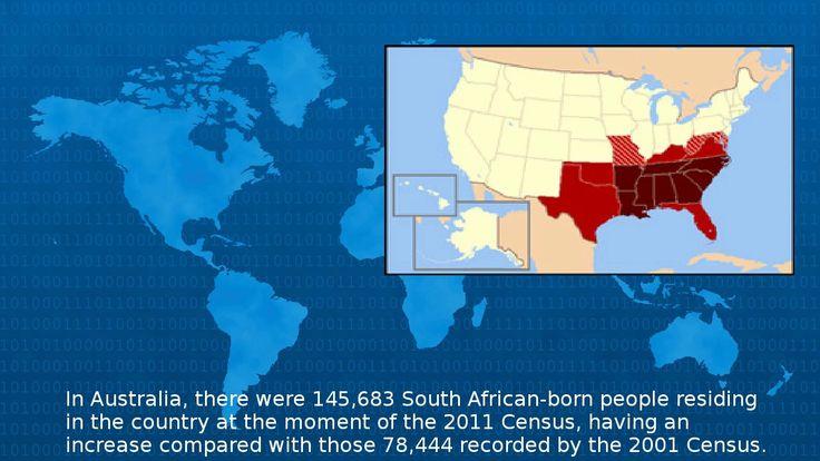 Wikipedia -  South African Diaspora