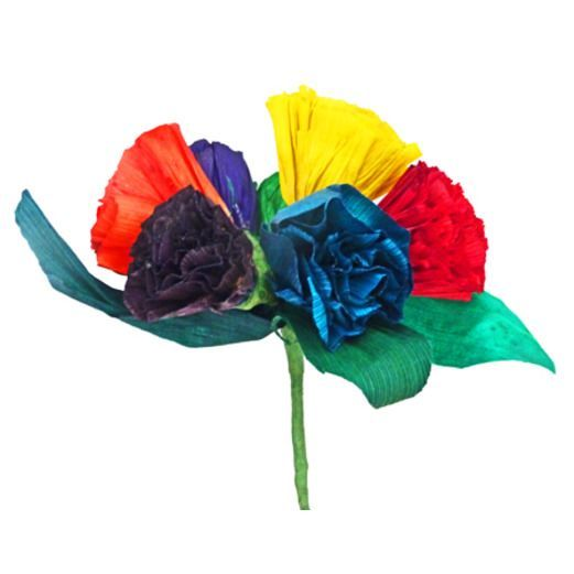 how to make mexican tissue flowers