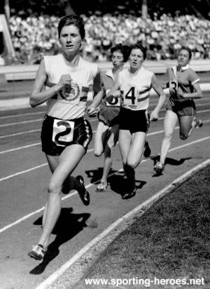 Diane Leather, First women runner to break 5 min mile ...