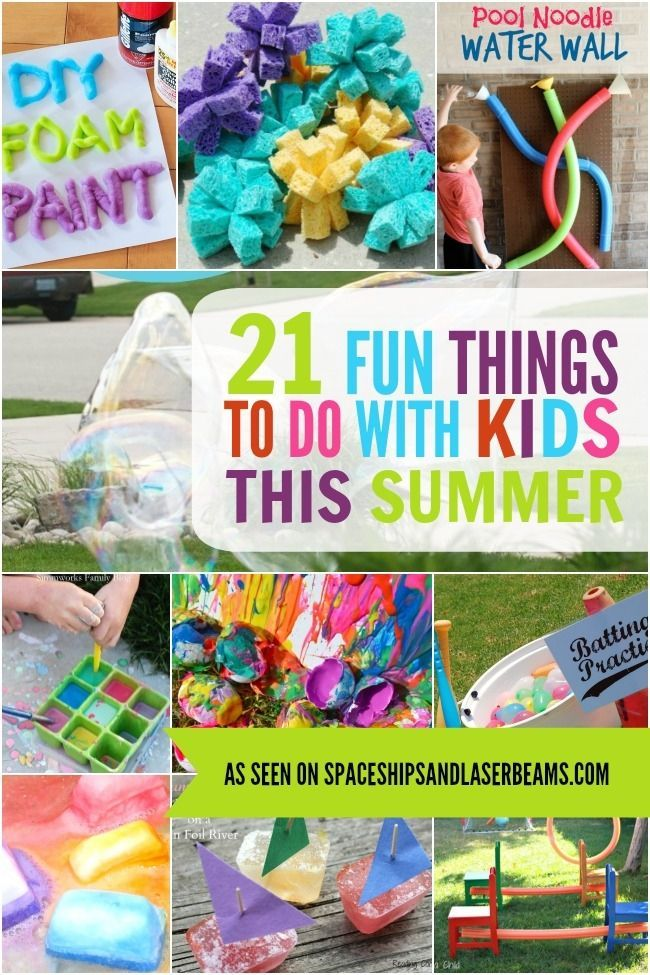 21 Fun Things to Do With Kids This Summer