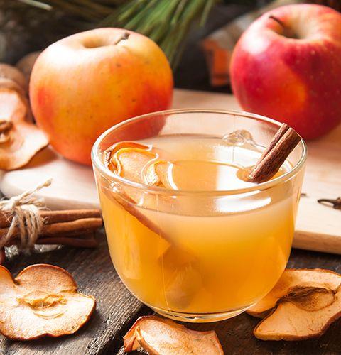 Горячий яблочный «сидр»