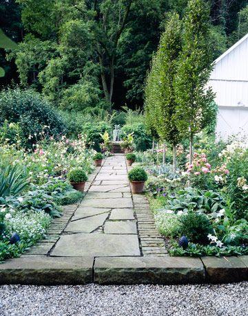 Ohio Farmhouse Revival. Stone Garden PathsStone ...