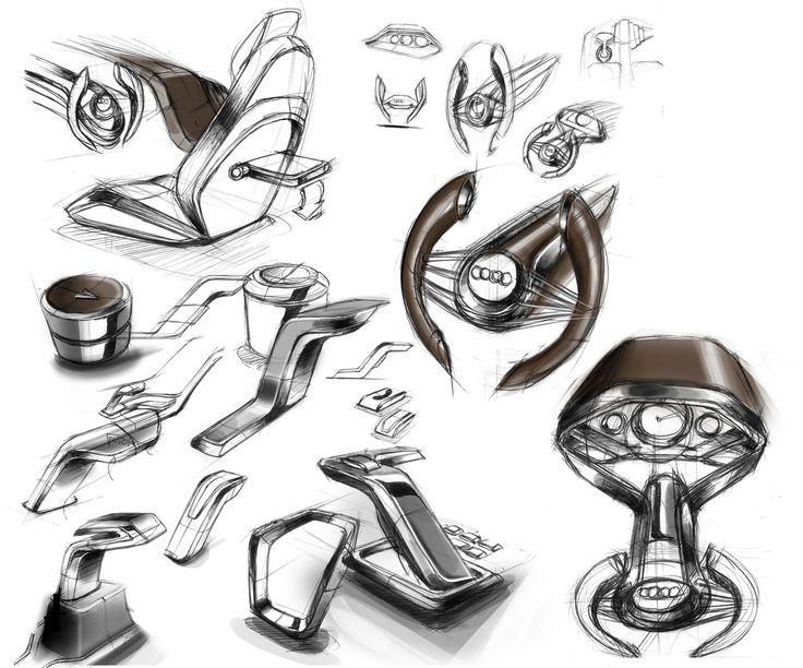 Vehicle Interiors on Buick Riviera Concept