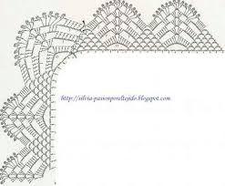 Resultado de imagen para orillas para servilletas en crochet