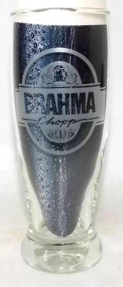 Copo Antigo Brahma Chopp Gravação A Laser Exclusiva - R$ 88,00 em Mercado Livre