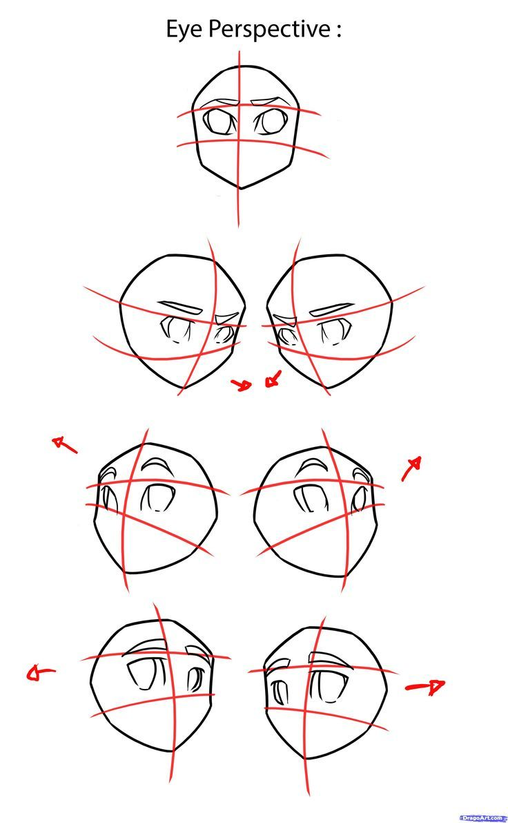 How To Draw Anime Eyes Step By Japanese Manga Free Online 4