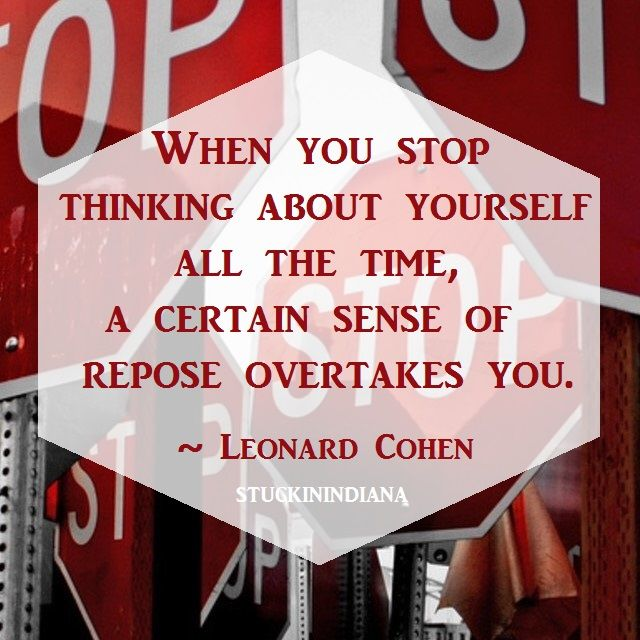 how to stop thinking bad about yourself