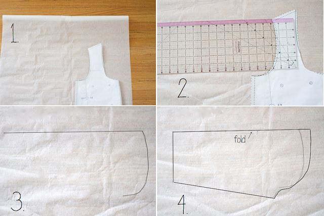flocking bird silk shirt (sleeve tutorial) - add sleeves to a tank pattern