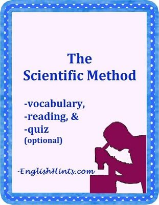 Scientific Method Packet FREEBIE. This simple explanation of science vocabulary (and of the scientific method) will help your students recognize important academic vocabulary and understand science and psychology news and research.