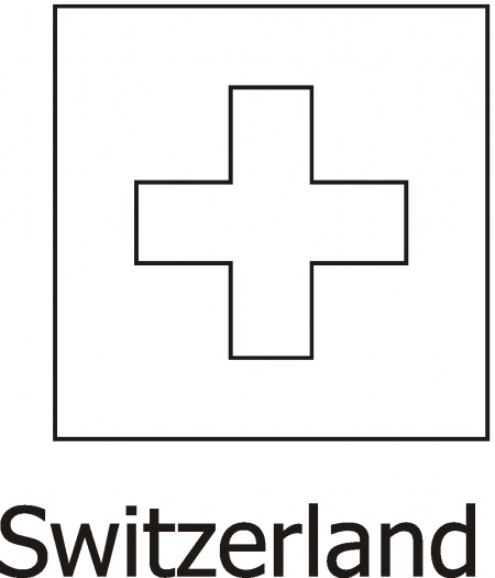 Switzerland Flag printable