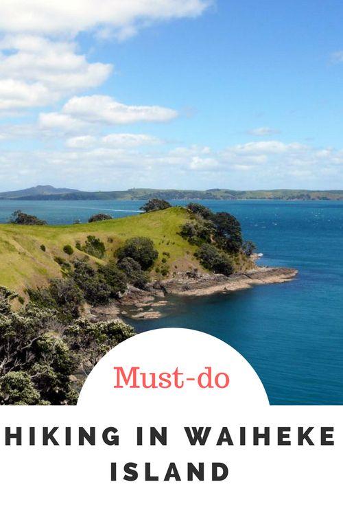 Hiking in Waiheke Island, Auckland, New Zealand