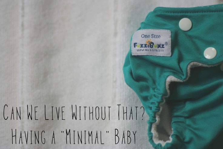 Our description of our Minimalist Baby Adventure, including our Minimal Baby Registry.