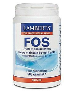 FOS (Fructo-oigosaccharides) Formerly Eliminex . When you take FOS, it passes through your digestive system undigested until it reaches your bowel where the friendly bacteria use it as a food source. The result is a rapid growth in the 'friendly' bacteria, such as Bifidobacteria and Lactobacillus species. This is what is called the 'prebiotic' effect, and as the friendly beneficial bacteria multiply, the harmful pathogenic bacteria and yeasts are suppressed.