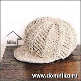 Örgü Modelleri  TIĞLA ÖRÜLMÜŞ örgü kasket şapka modeli  b39650c29e