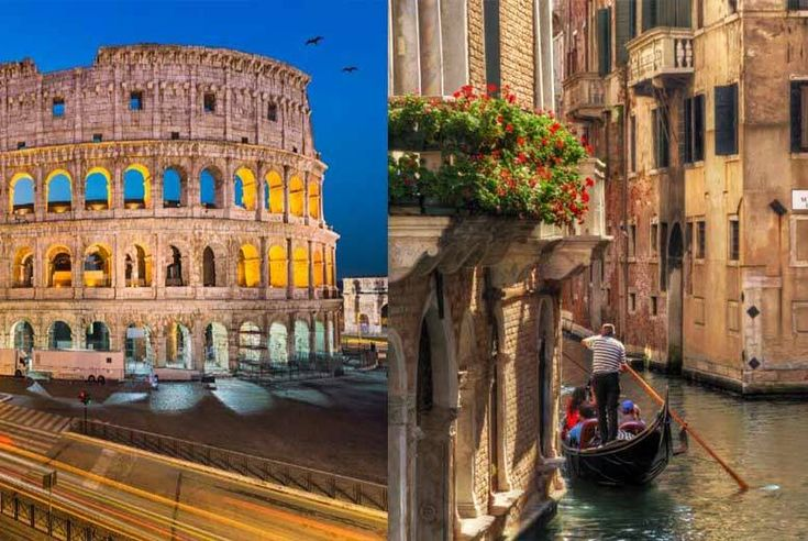 Discount UK Holidays 2017 4* Italian Getaway: Visit Rome & Venice - Colosseum Tour Option! From £149pp (from Tour Center) for a four-night 4* Rome and Venice break with return flights and train transfers, from £179pp for a six-night break - save up to 44%