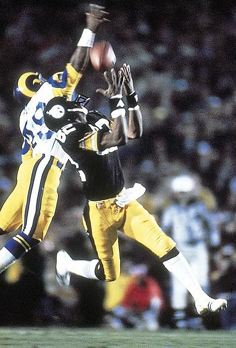 7203e0b5ff3 ... Jersey John Stallworth the Pittsburgh Steelers vs the Rams in the Super  Bowl - Sports Illustrated Cover Nike NFL Elite ...