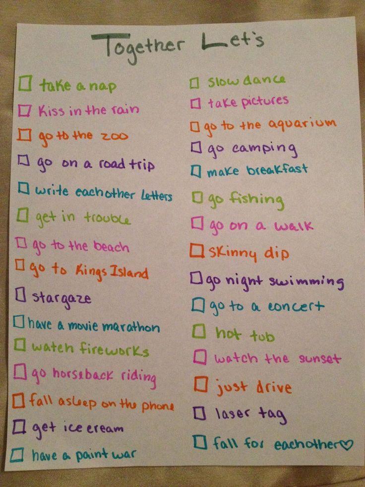 bucket list de novios bucket list challenge bucket list de ...