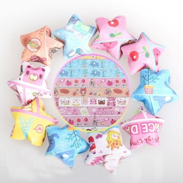 How to Make an Origami Lucky Star | Origami lucky star, Origami ... | 600x600