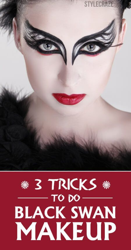 3 Tricks To Do Black Swan Makeup:                                                                                                                                                                                 More