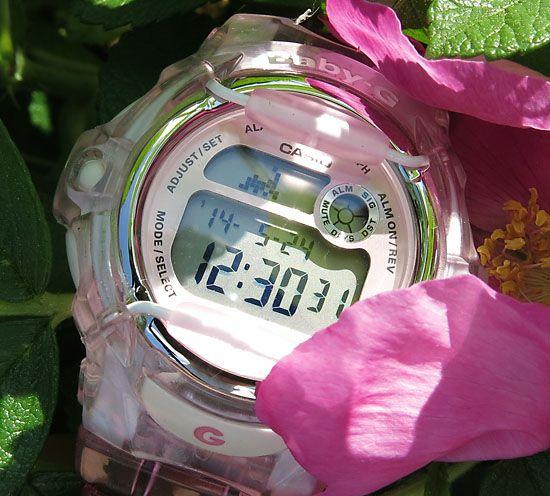 [Обзор Baby-G] BG-169R-4. Взгляд на мир через розовые часы