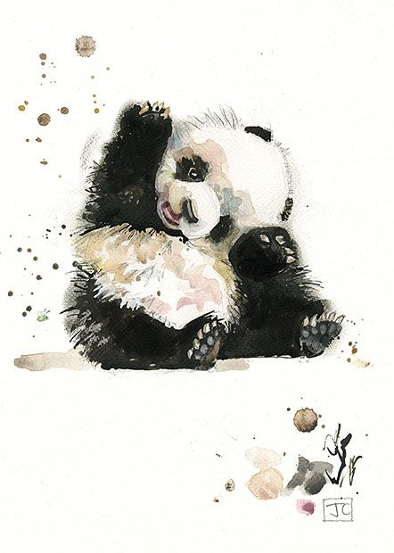 BugArt Critters ~ Baby Panda. CRITTERS *NEW* Designed by Jane Crowther.
