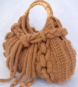ideas of hand knitted bags   art ideas crafts