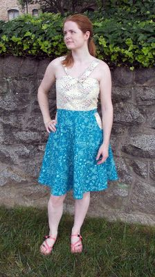 thREDhead: Lonsdale Summer Dress! in Dan Bennett fabrics!
