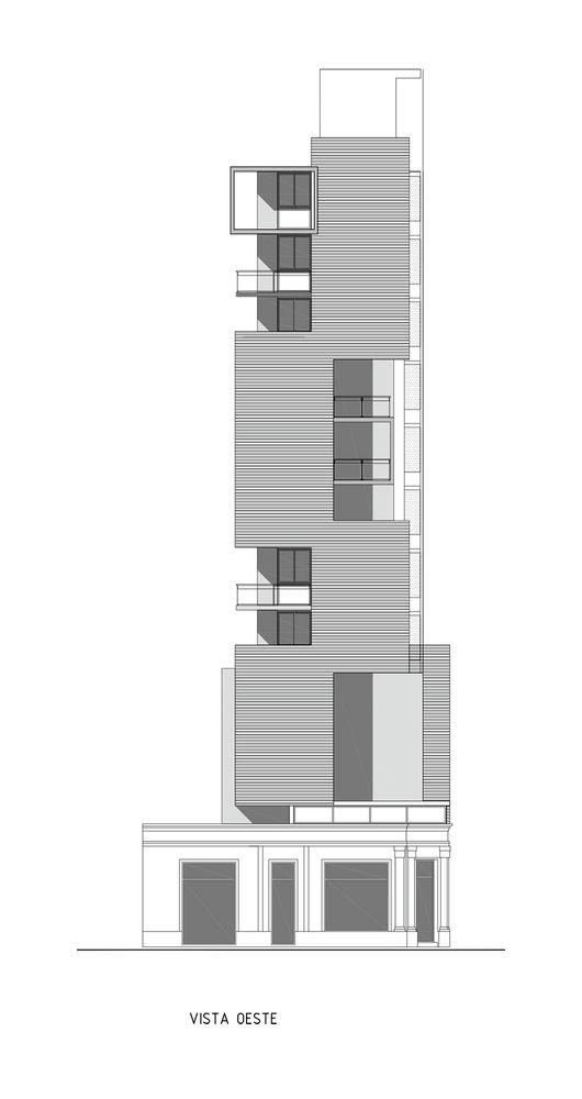 Gallery - Torre del Molino Housing / Estudio Castellitti-Bertoni Arqs & Asoc. - 16