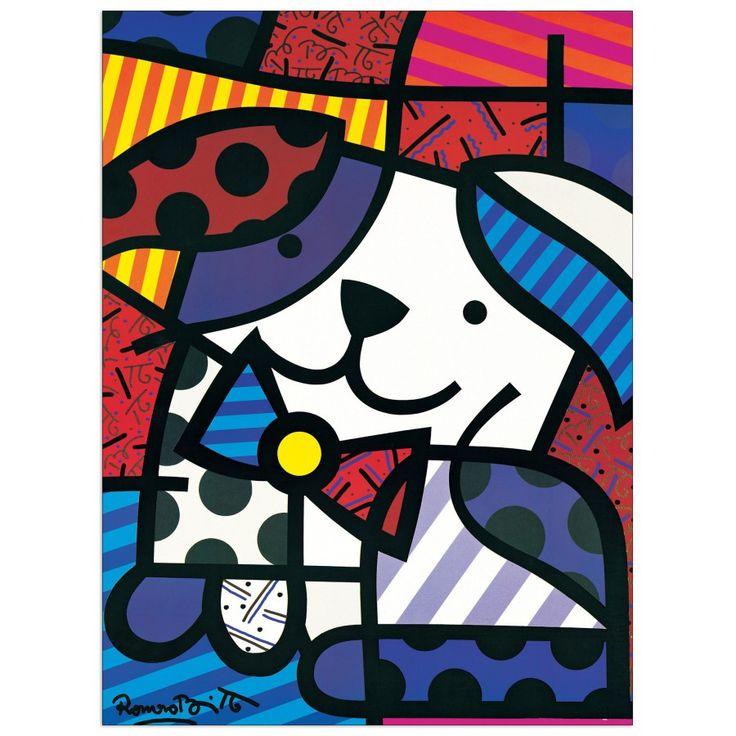 BRITTO - Ginger 60x80 cm #artprints #interior #design #art #print #animals  Scopri Descrizione e Prezzo http://www.artopweb.com/EC18435