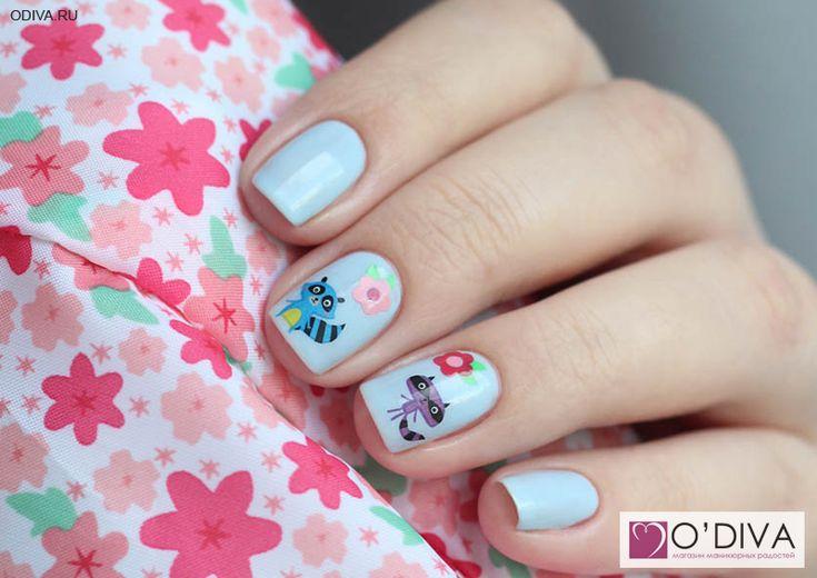 """Milv, слайдер-дизайн """"Цветы S197"""" http://odiva.ru/~bWHGt  #milv #милв #водныенаклейки #наклейкидляногтей #слайдердизайн #наклейкинаногти #дизайнногтей #ногти #идеиманикюра #маникюр"""