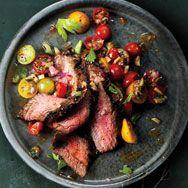 mary tomato salad recipe flank steak with bloody mary tomato salad ...