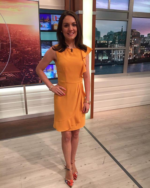 @goodmorningbritain Laura Tobin wearing @oasisfashion dress @primark shoes…