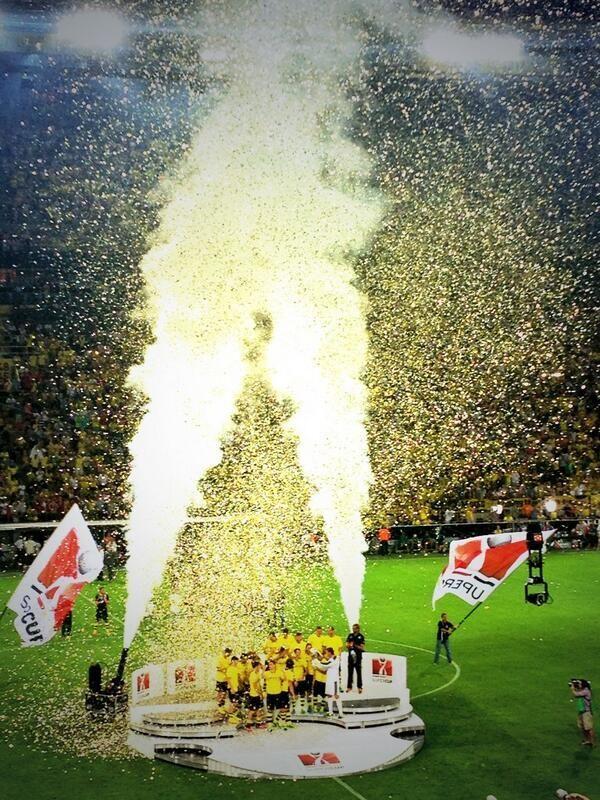 Borussia Dortmund wins the supercup