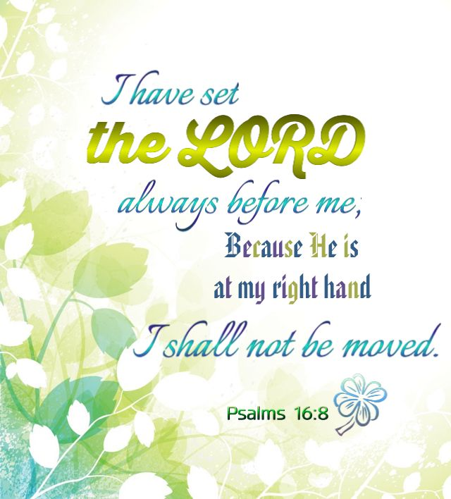 Psalms 16 8 Inspirational Image: 10 Best Free Bulletin Covers & Graphics Images On