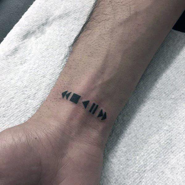Wrist Tattoo Girls Wristtattooidea Tattoosformen Simple Wrist