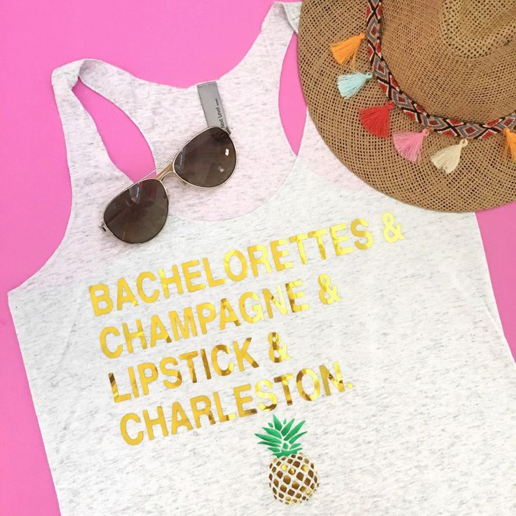 Planning a bachelorette weekend in Charleston, SC? Take @thecouturekitten along with our CUSTOMIZABLE Bachelorette Tops!  Bachelorette Party Bachelorette Weekend Bachelorette Tees Nashville Bachelorette Charleston Bachelorette Las Vegas Bachelorette St. Louis Bachelorette Savannah Bachelorette NYC Bachelorette New Orleans Bachelorette NOLA Bachelorette Bride Tee Bridesmaid Tee Bachelorette Shirt Bride Shirt Bridesmaid Shirt