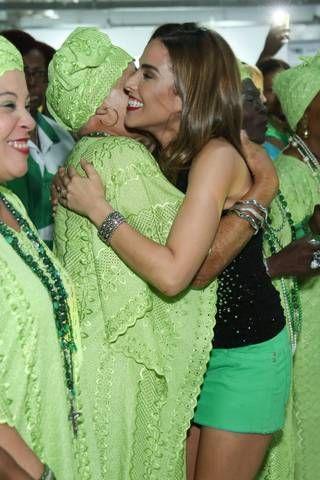 Wanessa Camargo é coroada musa da Mocidade (ROBERTO FILHO / BRAZIL NEWS)