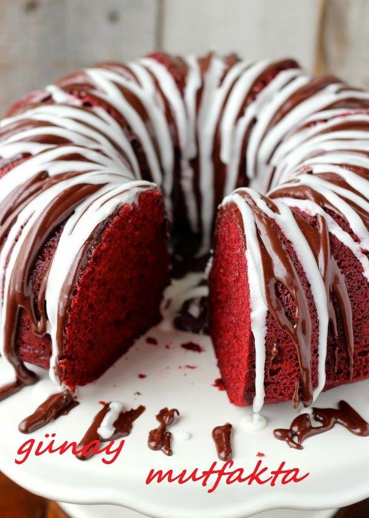 Merhabalar;)Harika bir kek tarifim var.Aslında bu bir amerikan kekiymiş.Red valvet ben daha önce verdiğim kadife kap kektionuntarifi far...