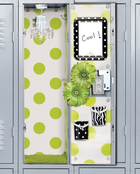 School Locker Decorations For Girls | Best Ideas Network The inside of my locker is pictured in my high school yearbook!