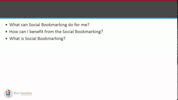 Social Bookmarking for SEO, Pl check out this short video, also like it and share it.