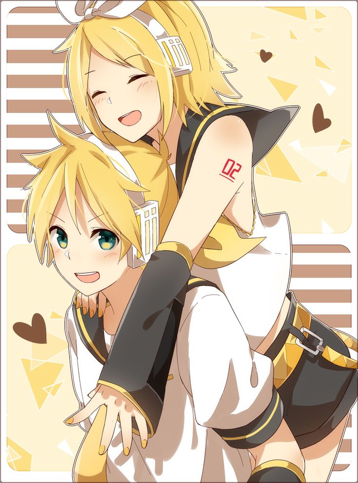 Rin - she looks very different without something on her ...  |Rin Kagamine Anime